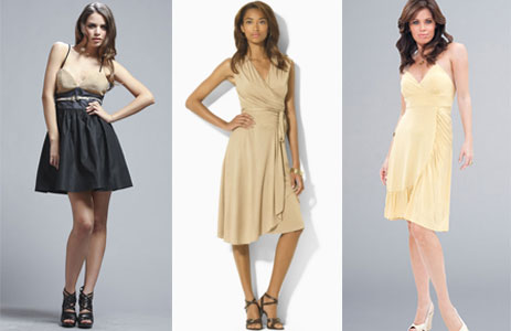 These Dresses Can Look A Little More Casual And Usually Avoid Satin Or Any Shiny Material Macys Is Great Place To Find Like This